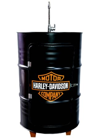 Lavatório com Armário - Harley Davidson