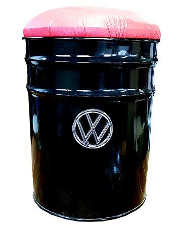 Banquinho Balde de Gelo Volkswagen - Assento vermelho