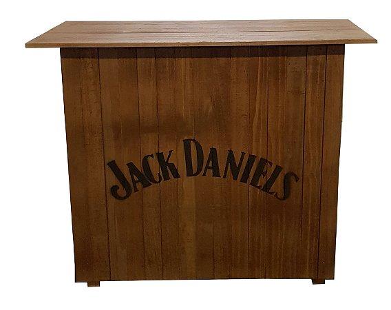 Balcão Barzinho de Madeira - Jack Daniel's