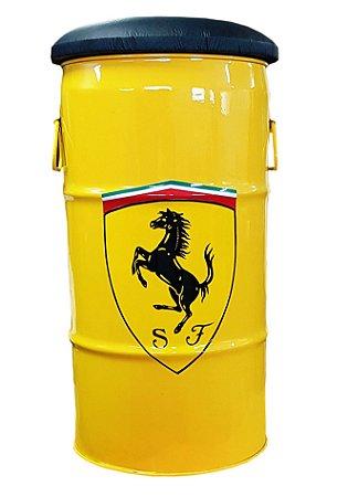 Banqueta Ferrari - (Assento Preto)