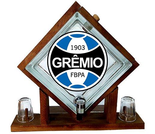 Pingometro de Bloco de vidro - Grêmio