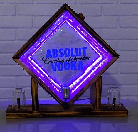 Pingometro de Bloco -  Absolut - COM LUZ DE LED