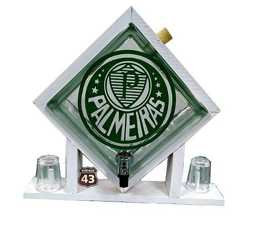 Pingometro de Bloco de Vidro - Palmeiras