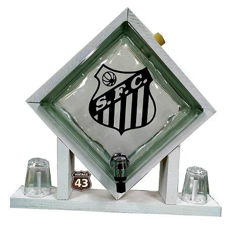 Pingometro de Bloco de Vidro - Santos