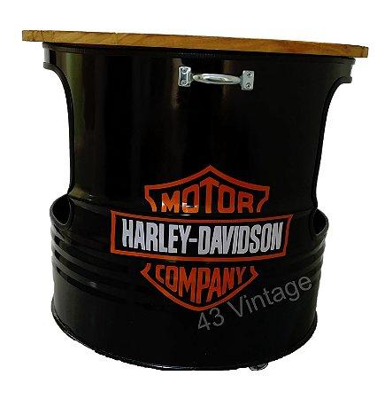 Tambor Cooler - Tema Harley Davidson