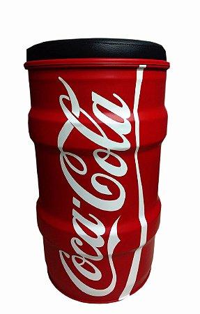 Banqueta de tambor - Coca-Cola