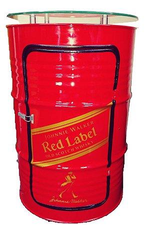 Tambor Barzinho Com Luz de Led - Red Label