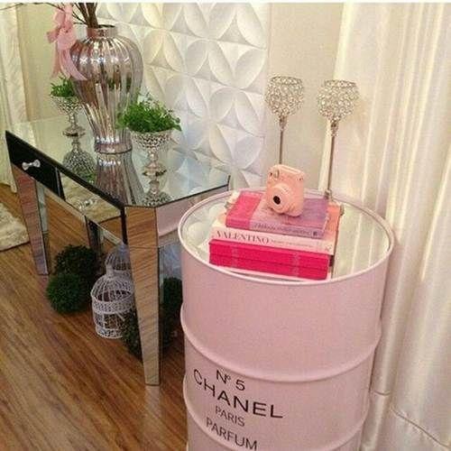 Tambor 200 Litros Chanel Rosa