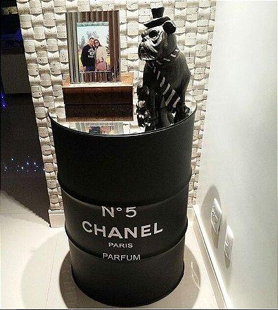 Tambor 200 Litros Chanel Preto