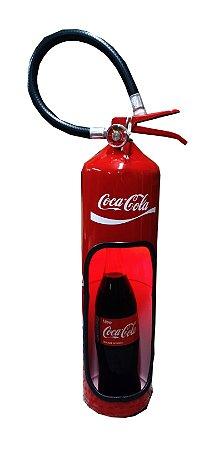 Extintor decorativo -  Tema Coca Cola