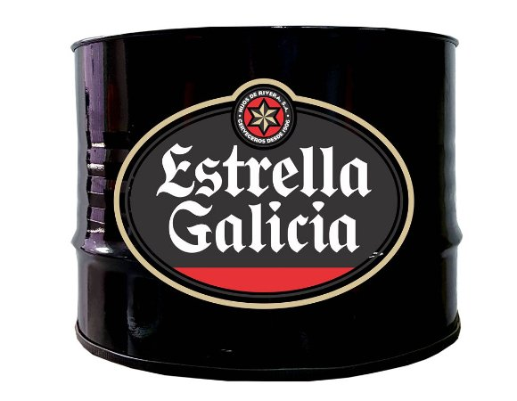 Mesa de Centro - Tema Estrella Galicia