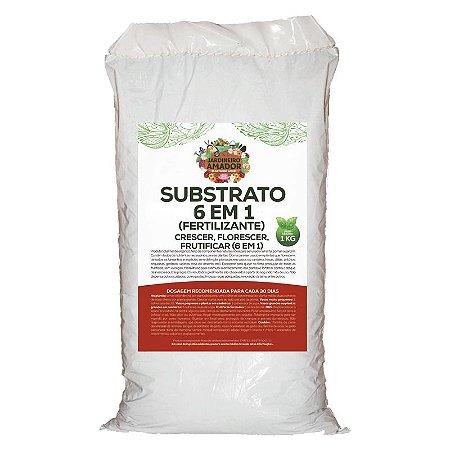 Substrato Fertilizante 6 em 1 do Jardineiro Amador