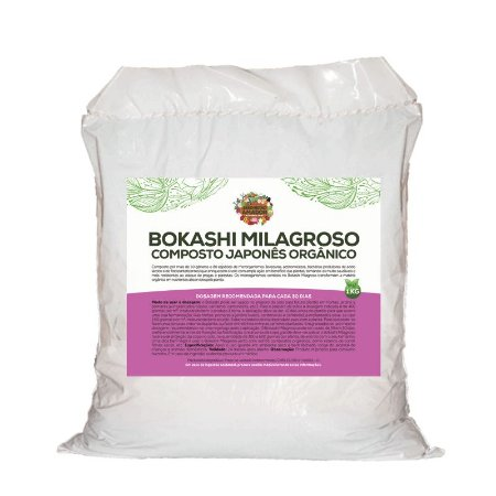 Bokashi Milagroso do Jardineiro Amador - 1kg