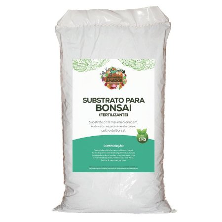 Substrato Para Plantar Bonsai do Jardineiro Amador