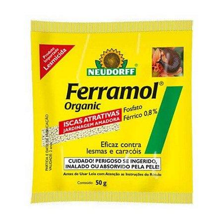 Mata Lesmas Ferramol Orgânico - 50g