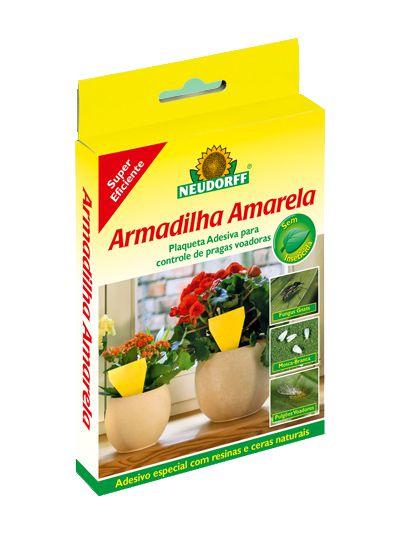 Armadilha Pequena Para Pegar Insetos do Jardineiro Amador