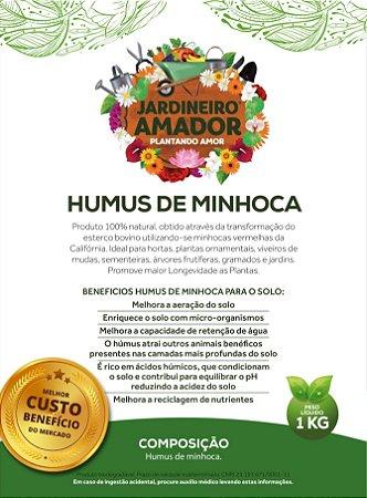 Húmus de Minhoca