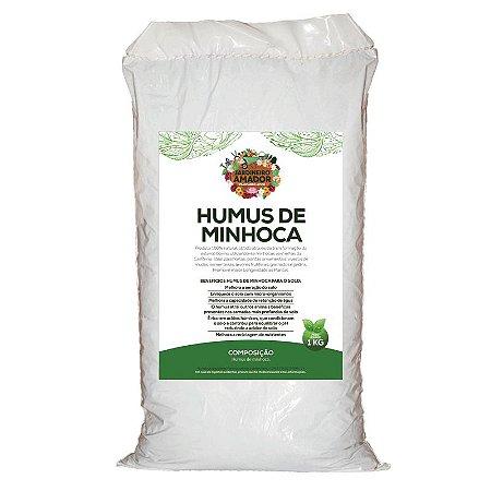 Húmus de Minhoca do Jardineiro Amador 1kg