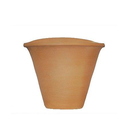 Vaso de Barro Pequeno para Fixar do Jardineiro Amador