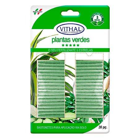 Bastonetes Fertilizantes para Plantas Vithal do Jardineiro Amador 30pç