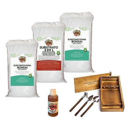 Kit Para Plantar Bonsai