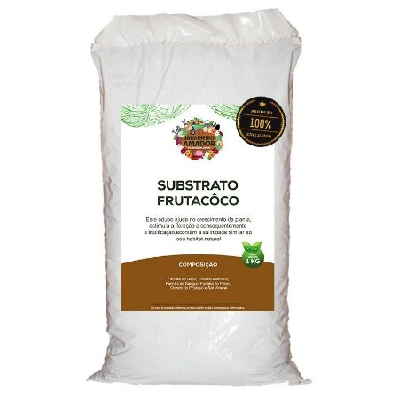 Substrato Fertilizante Frutacôco do Jardineiro Amador 1kg