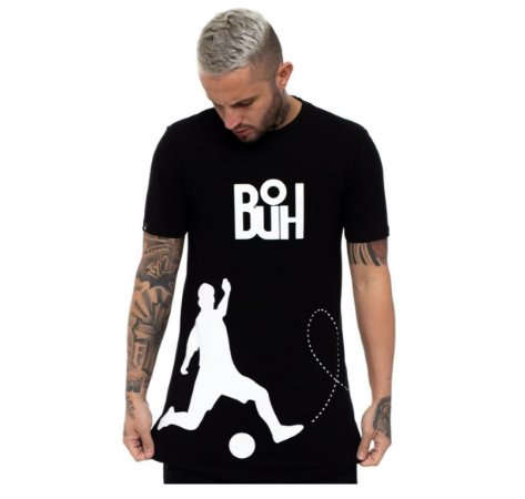 Camiseta Buh Chute Black