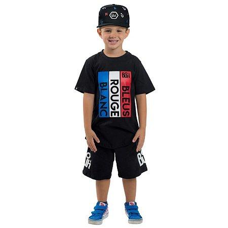 Camiseta Buh Kids Chute Black