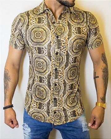 Camisa Kreta Estampa