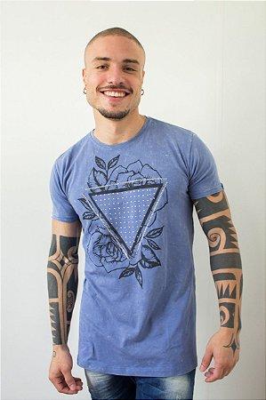 Camiseta Effel Triangle With Stones