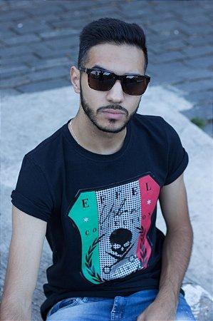 Camiseta Effel Skul Italia