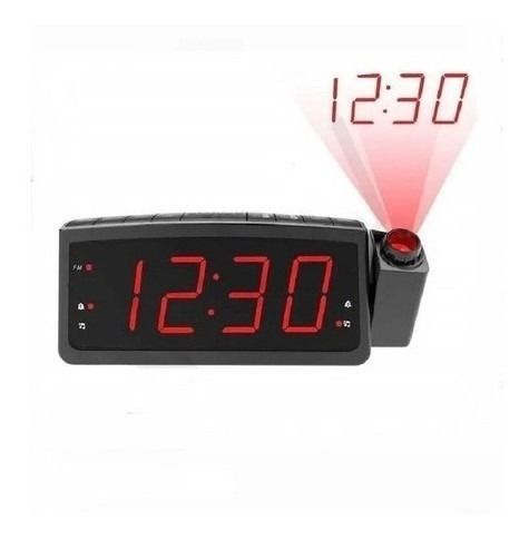 Despertador Radio Relógio Digital Lelong E Projetor De Hora