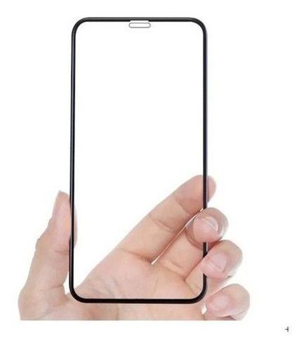 Pelicula Vidro Curvada 3d iPhone 5 Se 7 8 Xr Xs 11 Pro Max