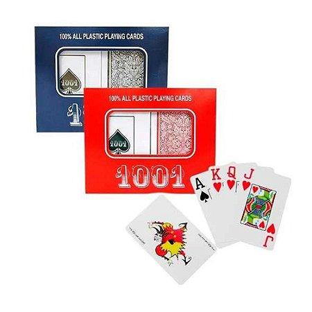 2 Jogos De Baralho 108 Cartas Em Plástico - Poker Truco Magica