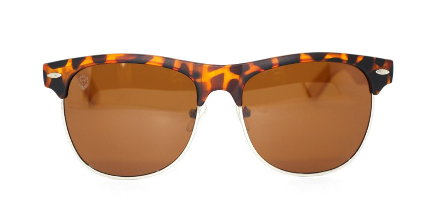 Óculos de Sol de Acetato com Bambu Masseria Turtle