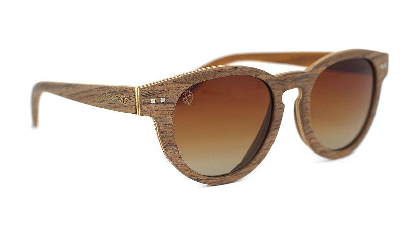Óculos de Sol de Madeira Bratva