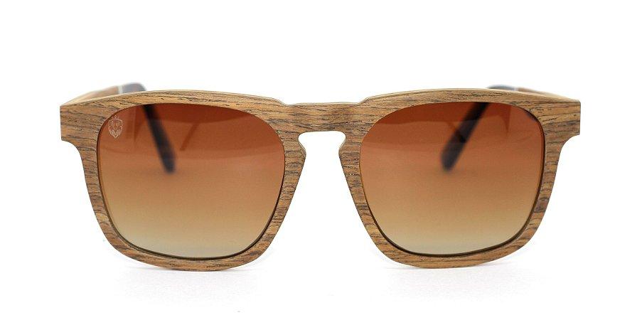 Óculos de Sol de Madeira Morello