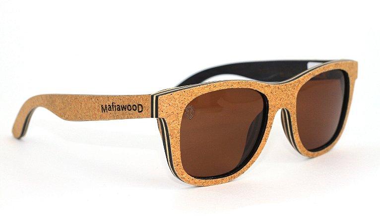 Óculos de Sol de Madeira Escobar