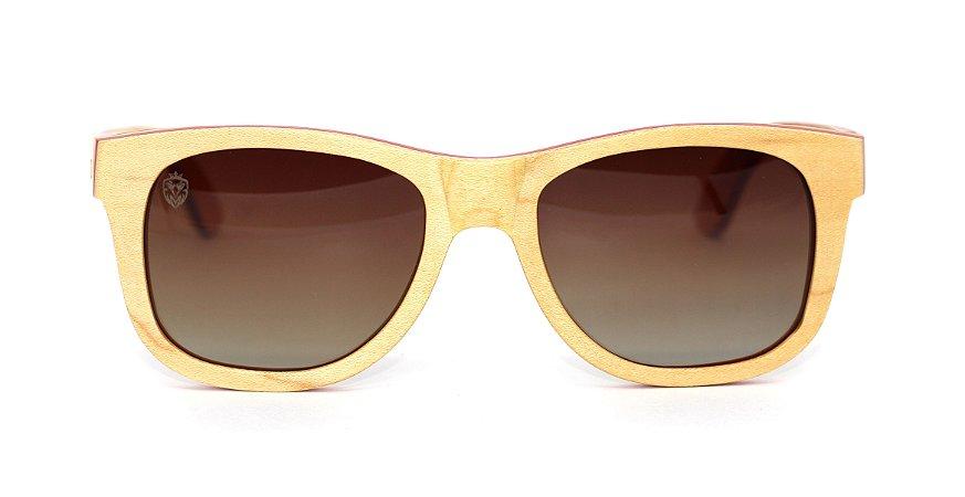 Óculos de Sol de Madeira Dutch