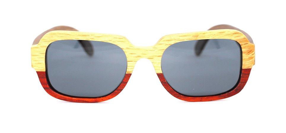 Óculos de Sol de Madeira Lehder