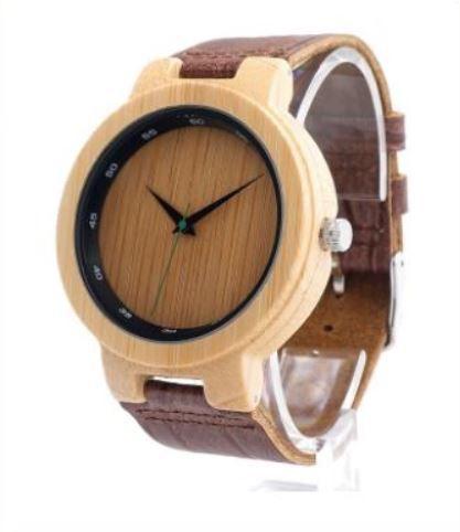 Relógio de Madeira e Bambu Agistri