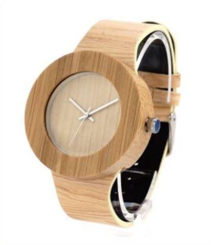 Relógio de Madeira Lian Wood