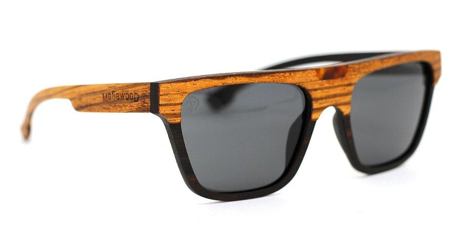 Óculos de Sol de Madeira Pablo