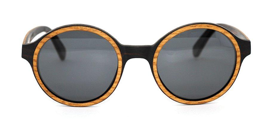Óculos de Sol de Madeira Luca