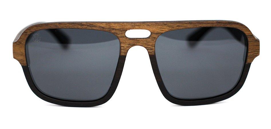 Óculos de Sol de Madeira Frank