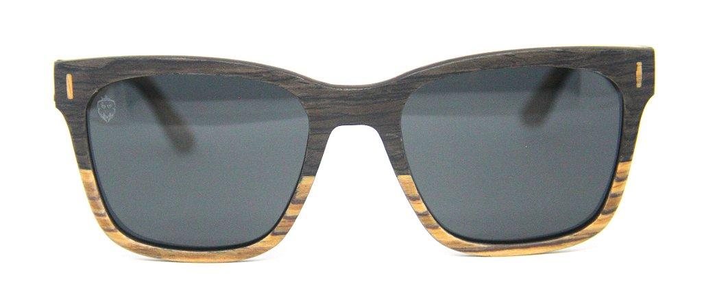 Óculos de Sol de Madeira Arnold Black