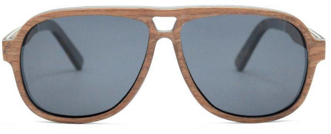 Óculos de Sol de Madeira Navarra Light