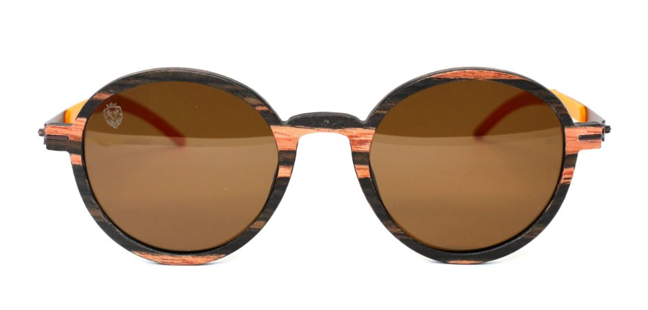 Óculos de Sol de Madeira Siegel Brown
