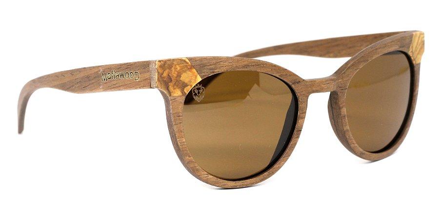 Óculos de Sol de Madeira Elliot