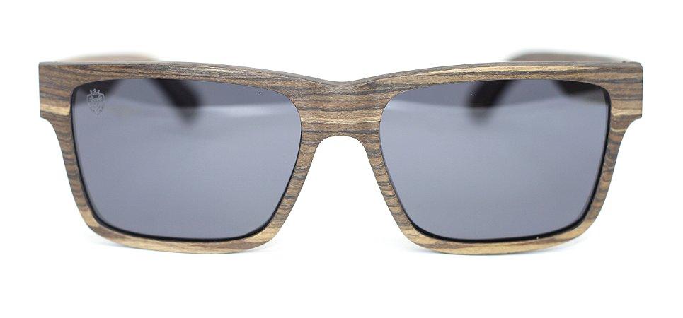 Óculos de Sol de Madeira Gambino Light